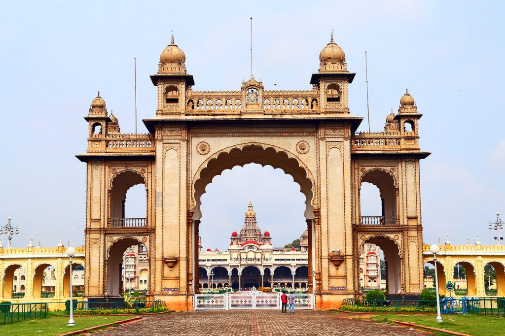 Mysore Historical Palace Gate