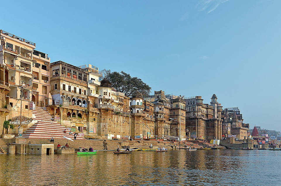 Varanasi and Ganges river