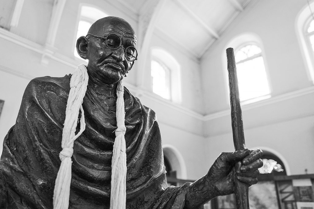 Mahatma Gandhi at Aga Khan Palace